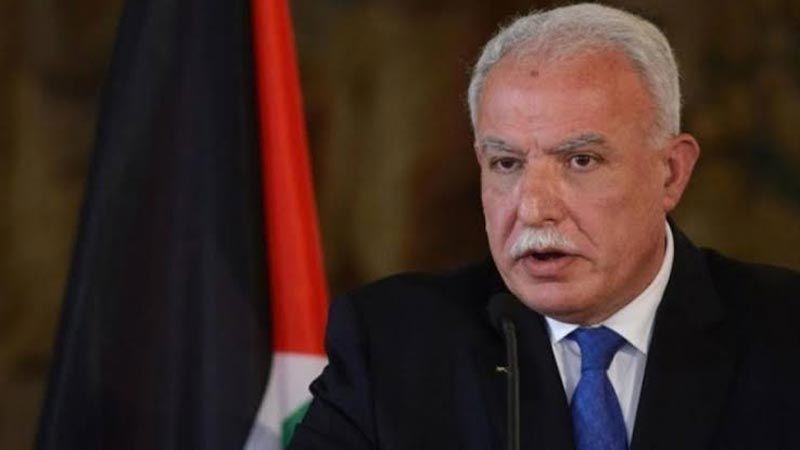 وزير الخارجية الفلسطيني: الإمارات تجاوزت الثوابت والخطوط الحمراء