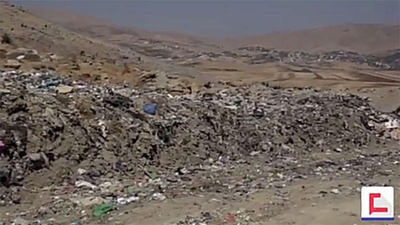 اتحاد بلديات جبل الشيخ يعاني من أزمة مكبات النفايات العشوائية