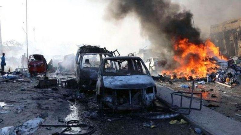 ضحايا وجرحى في تفجير انتحاري أمام مسجد في مدينة كيسمايو الصومالية