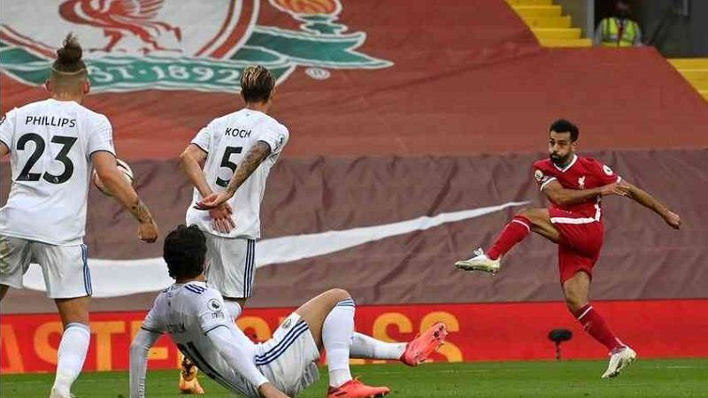 صلاح يقود ليفربول للفوز على ليدز يونايتيد