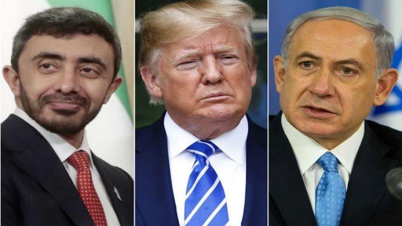 نتنياهو في البيت الأبيض قُبيل ساعات من توقيع اتفاق الذل مع الإمارات والبحرين