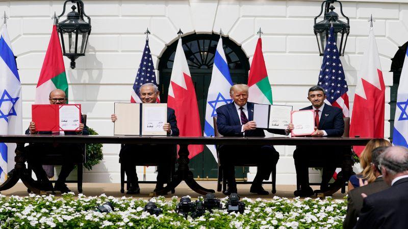 برعاية أميركية.. البحرين والإمارات توقعان إتفاقيات التطبيع