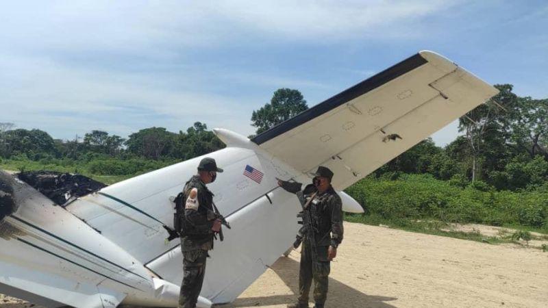 فنزويلا تُسقط طائرة أميركية تحمل مخدرات في أجوائها