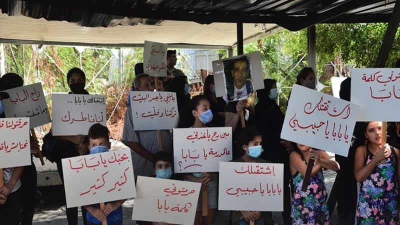 وقفة لعائلات شهداء 4 آب احتجاجًا على تأخر نتائج التحقيق والمحاسبة