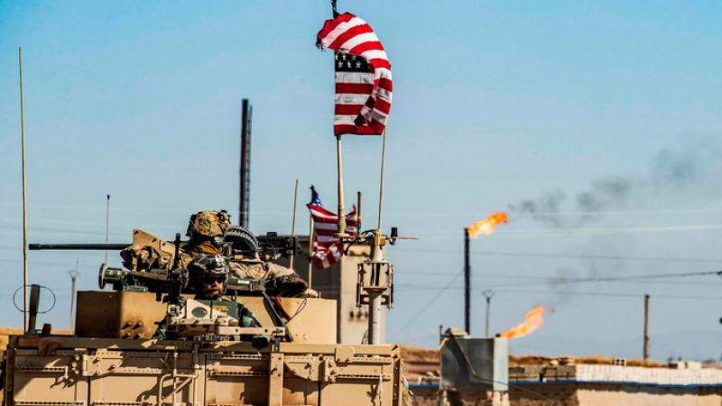 الاحتلال الأمريكي يواصل سرقة النفط السوري من منطقة الجزيرة