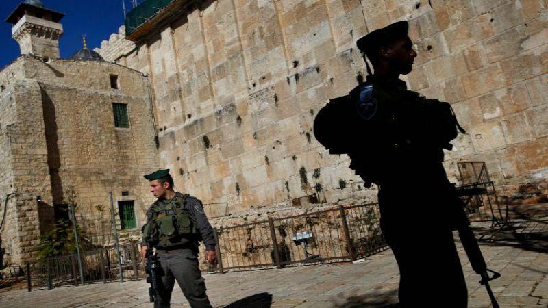 الاحتلال يواصل إغلاق الحرم الابراهيمي بحجة الأعياد اليهودية