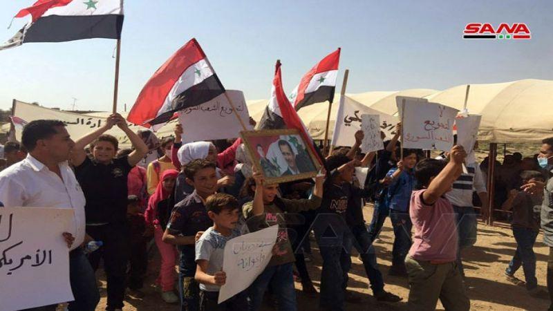 انتفاضة شعبية ضدّ الاحتلالين الأمريكي والتركي في ريف القامشلي