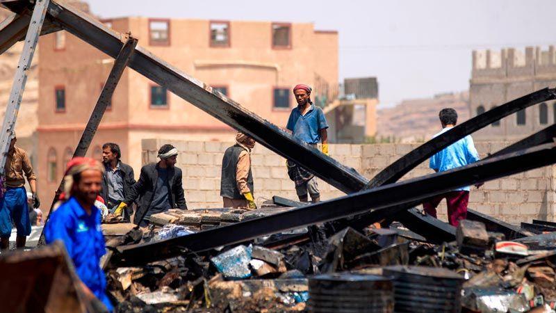 من سيحاسب المتواطئين في جرائم الحرب في اليمن؟