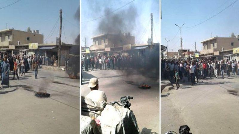 """سوريا: احتجاجات شعبية على جرائم """"قسد"""" وقوات الاحتلال الأمريكي في الحسكة"""