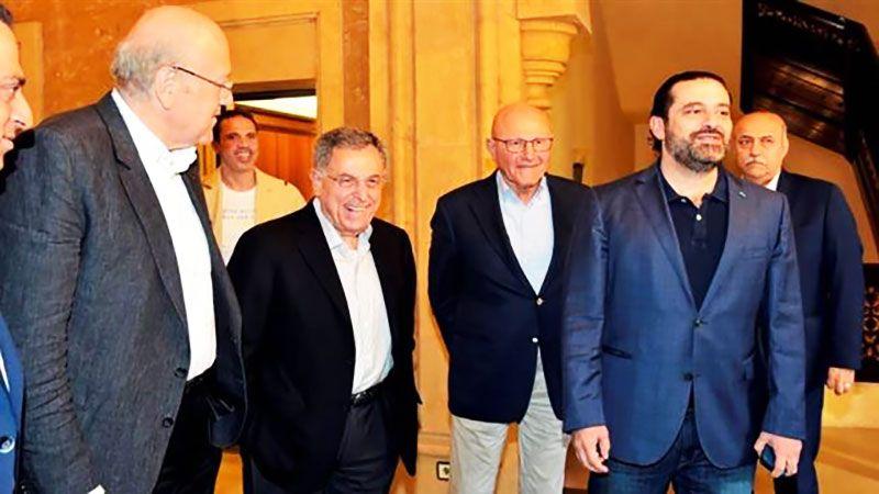 نادي الرؤساء المعطلين للمبادرة الفرنسية: فشل الانقلاب