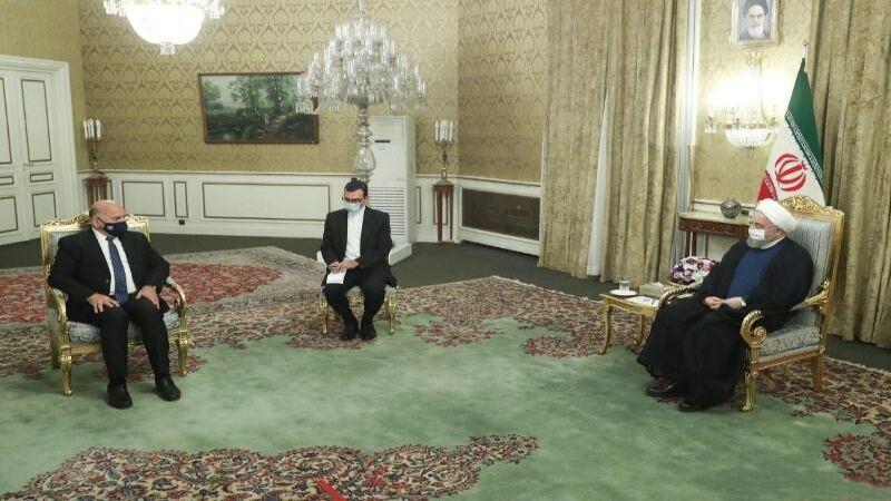 روحاني التقى وزير الخارجية العراقي: التواجد الأمريكي يضرّ بأمن المنطقة