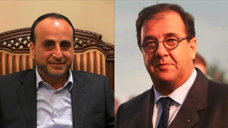 لقاء فوشيه - الموسوي.. باريس متمسّكة بالتعاون مع حزب الله