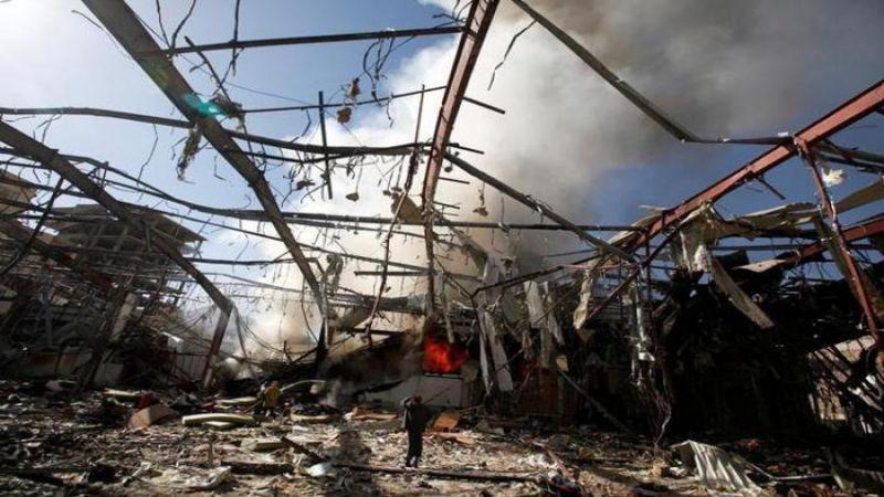 """الحوثي: الولايات المتحدة المسؤول المباشر عن جريمة """"الصالة الكبرى"""""""