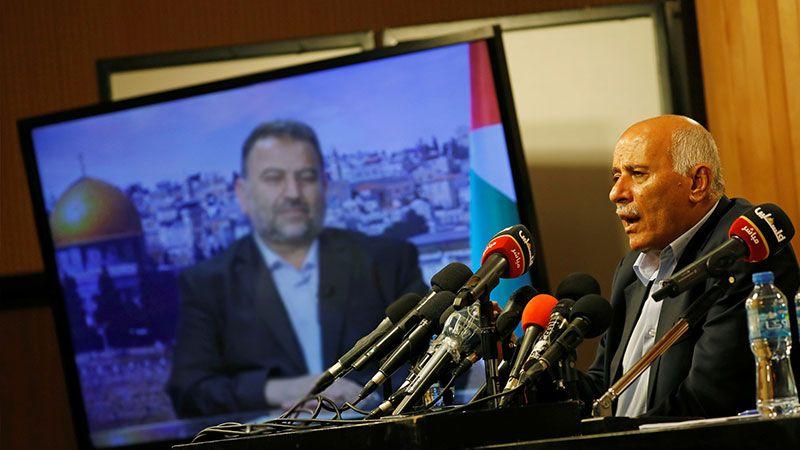 لقاء الفصائل الفلسطينية مع الرجوب: لإلغاء أوسلو؟