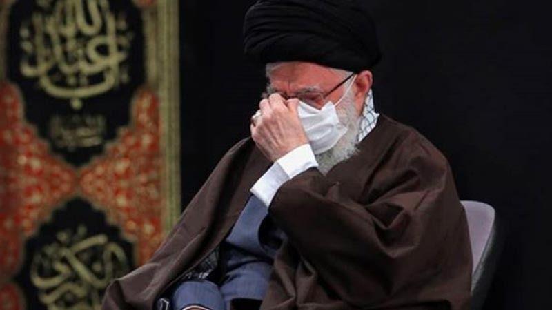 بالصور: الإمام الخامنئي يحضر مراسم قراءة زيارة أربعين سيد الشهداء (ع)