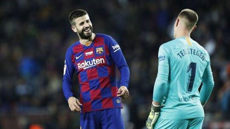برشلونة يمدد عقد حارسه شتيغن