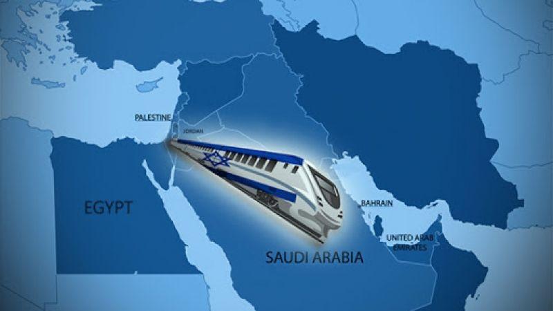 العدو يبحث مع الإمارات والسعودية إنشاء سكة حديد