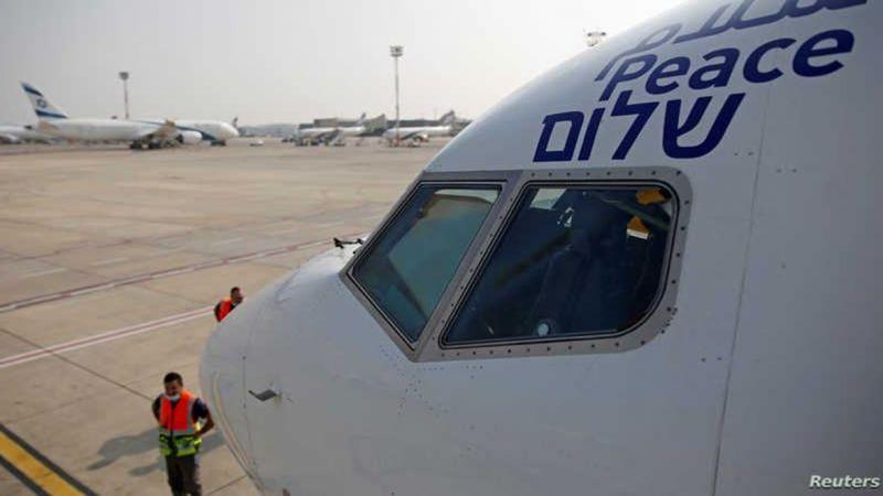تتويجًا لاتفاق العار..أول رحلة تجارية لوفد صهيوني إلى المنامة