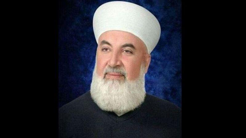 """إستشهاد مفتي دمشق وريفِها في """"تفجير إرهابي غادر"""""""
