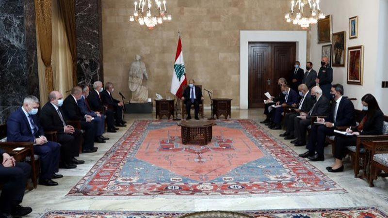 الرئيس عون: لإيجاد حلّ سريع يُحقق عودة النازحين السوريين الى بلادهم