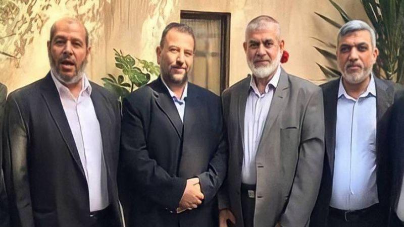 """وفد """"حماس"""" يختتم زيارته للقاهرة"""