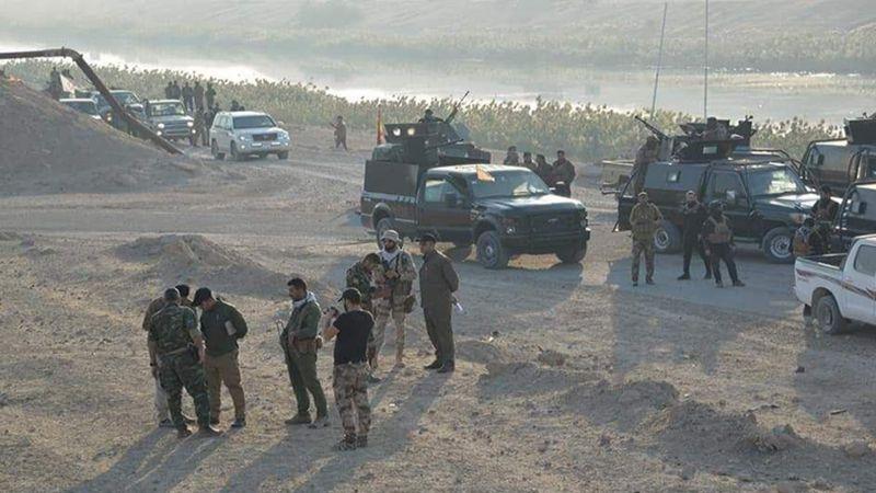 """الحشد الشعبي العراقي يطلق عملية """" ثأر الشهداء الأبرار"""" لتأمين جزيرة الكرمة في الأنبار"""