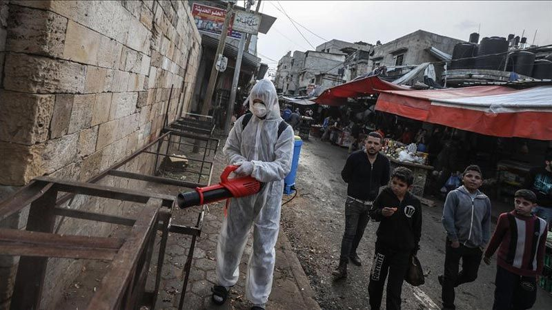 """غزة تسجل أعلى نسبة إصابات بفيروس """"كورونا"""""""