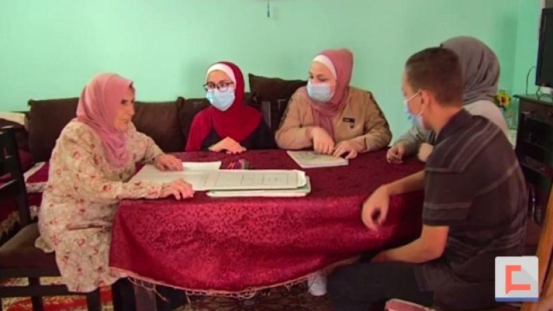 ثمانينية من غزة تُعاود التدريس