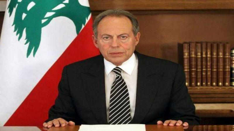 """عن """"خطيئة"""" ترسيم الحدود مع قبرص.. الرئيس لحود لـ""""العهد"""": السنيورة يجب أن يحال للمحاكمة"""