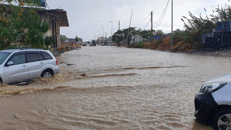 لبنان أمام عواصف رعدية وأمطار غزيرة حتى يوم السبت