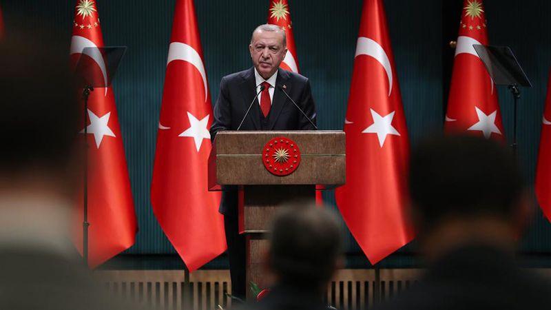أردوغان: كلّ أرضٍ سقطت فيها دماء تركية هي أرضنا
