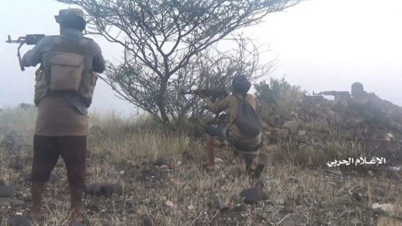 الجيش اليمني يُكبّد قوى العدوان خسائر فادحة في جبل النار