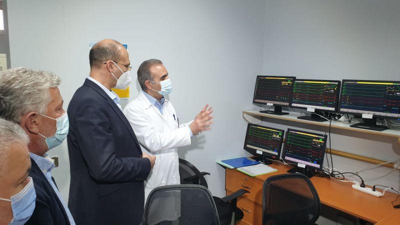 وزير الصحة افتتح قسم العناية الفائقة في مستشفى مشغرة الحكومي
