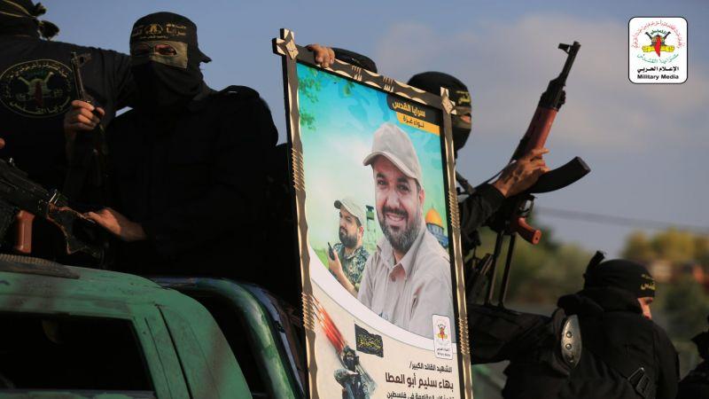 بالصور.. عرضٌ عسكري لسرايا القدس في ذكرى استشهاد القائد أبو العطا