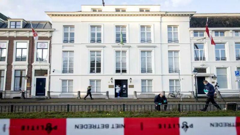 هجومٌ على السفارة السعودية في هولندا