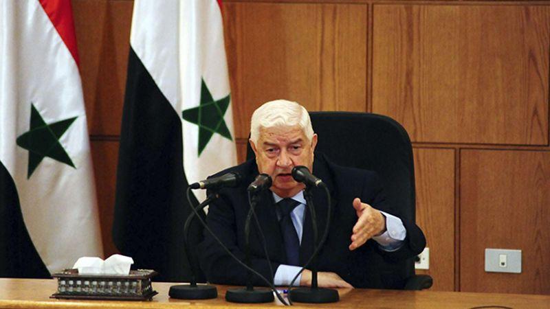 لبنان يعزي برحيل عميد الدبلوماسية السورية