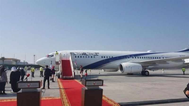"""وفد أمريكي - بحريني بأول رحلة مباشرة من المنامة إلى """"تل أبيب"""""""