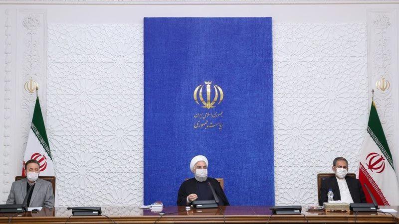 الرئیس روحاني: الأوضاع الاقتصادیة في إيران ماضیة نحو التحسّن