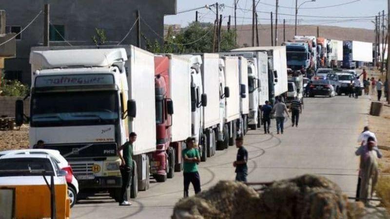 الأردن يفرض 2000 دولار على عبور كلّ شاحِنة سورية إلى الخليج