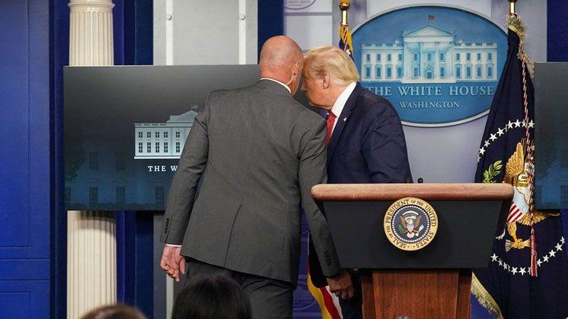 ترامب ينشر الفوضى قبل مغادرة البيت الأبيض