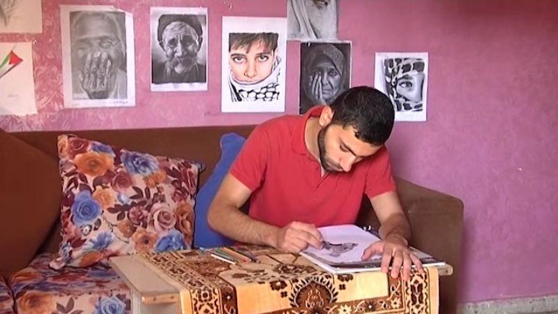 الفنّ في ظلّ الحصار .. إبداع فلسطيني يجسّد الحكاية