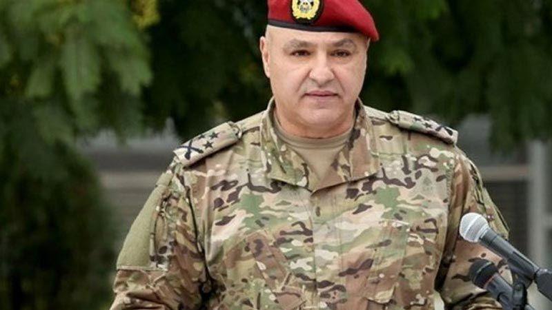 قائد الجيش: لا تهاون بأمن الوطن ولا تفريط بالسيادة الوطنية