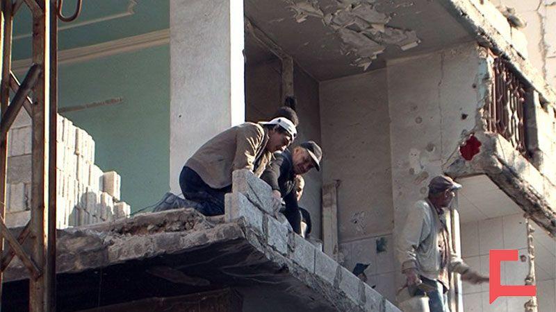 حي التضامن في دمشق يستقبل عائلاته من جديد