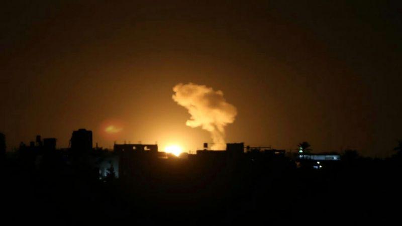 عدوان جوّي صهيوني جديد على قطاع غزة