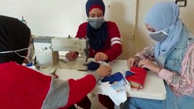مشروع لصناعة الكمامات في طرابلس لتحتضن العائلات الفقيرة