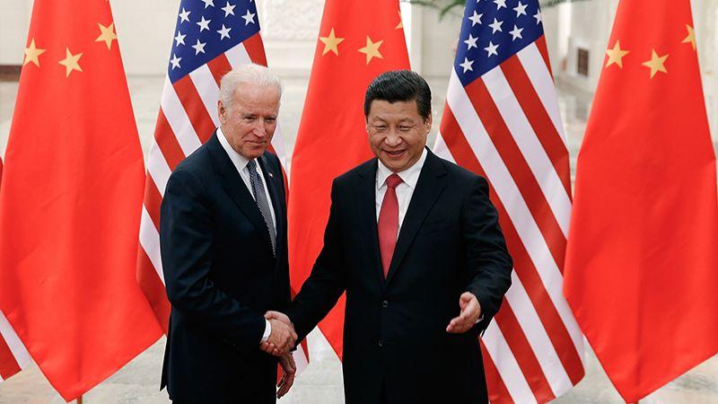 الرئيس الصيني لبايدن: لتنمية العلاقات وتجنب روح النزاع