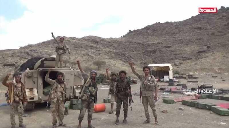 اليمن: تطهير عدد من المواقع بعملية هجومية للجيش في الظهرة بنجران