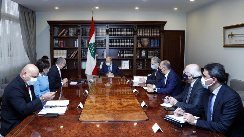 الرئيس عون: التدقيق الجنائي يحقق صدقية الدولة دوليا