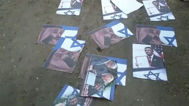 بالفيديو: صور محمد بن سلمان تُحرق في مخيم البداوي