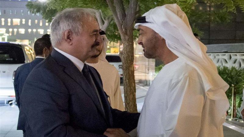 دعوى قضائية دولية ضد ابن زايد وحفتر